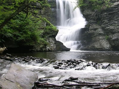 Fulmer  Falls  Downstream  View