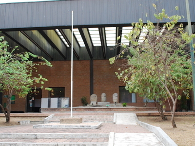 Facade Of The Museum