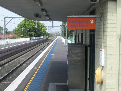 Fairy Meadow Railway Station Platform