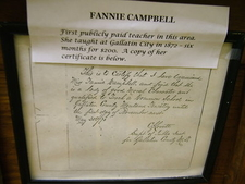 Fannie Campbell