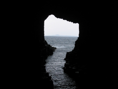 View From The Depths Of The Cave