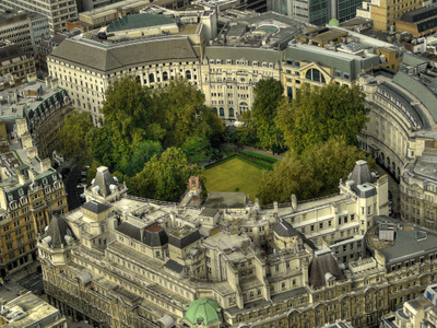 Finsbury Circus From The Tower 42