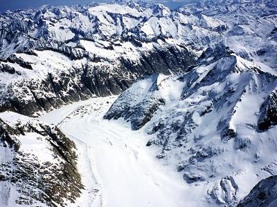 Finsteraar Glacier