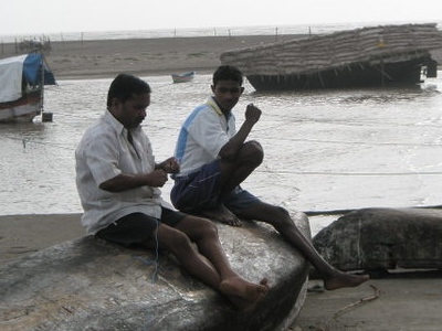 Fisherman  Kelva  Beach  India