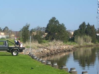 Fishing At  Raymond  Terrace