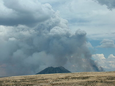 Fire By Three Buttes
