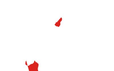 Flag  Map Of  East  Timor