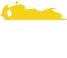 Flag Map Of Venezuela