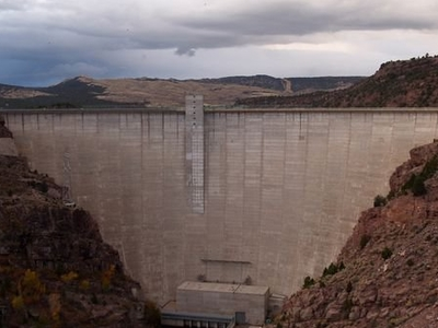 The Flaming Gorge Dam