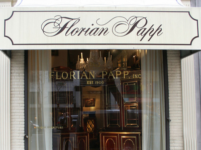 Front Window Of The Florian Papp