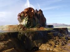Fly Geyser In Nevada