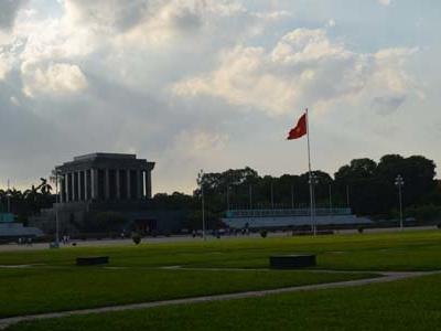Flag At Ba Dinh Square