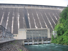 Fontana Dam And Powerhouse