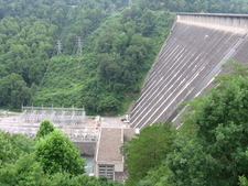 Fontana Dam And Switchyard