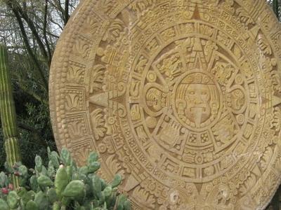 A Large Aztec Calendar Replica