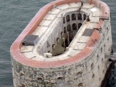 Fort Boyard From The Air