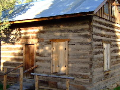 Original Cabin From Fort Crook