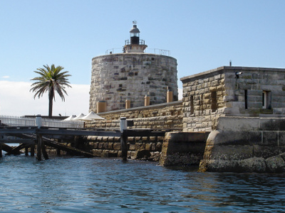 Fort Denison With Its Martello Tower