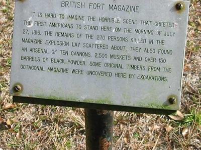 Fort Gadsden Plaque