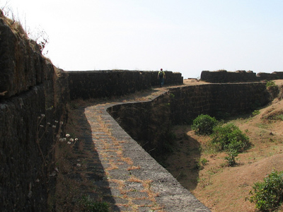 Fortification Wall At Visapur