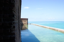 Fort Jefferson Moat - Dry Tortugas