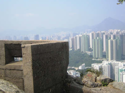 Remains Of Fortifications On Devil\'s Peak