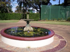 Fountain At Newstead House