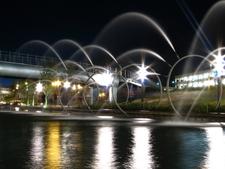 Fountain In Parque Fundidora