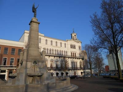 Fountain At Wereldmuseum