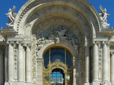 Paris Petit Palais Renove Entree