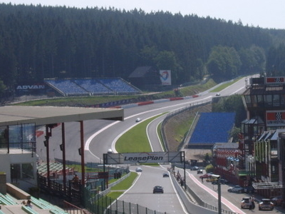 The Raidillon In The Eau Rouge Valley