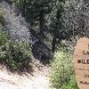 San Gabriel Designated Wilderness Boundary