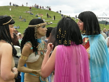 Summer Solstice Pageant In Gas Works Park