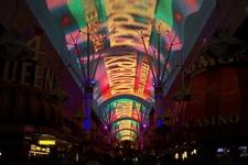 Fremont Streets Illuminated Space Frame