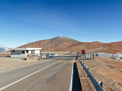 Main Entrance Of The Paranal Observatory