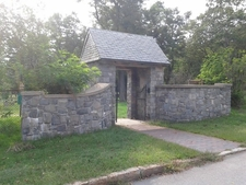 Front Entrance To The Western Cemetery