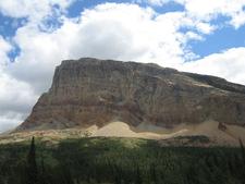 Gable Mountain At Glacier - USA
