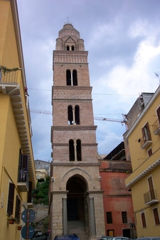 Bell Tower Of The Cathedral