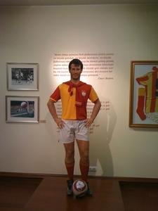 Galatasaray Museum Metin Oktay Wax Sculpture