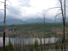 Gallatin Range From Grizzly Lake