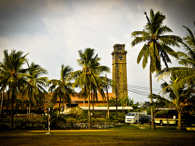 Galle Fort Clock Tower - Sri Lanka
