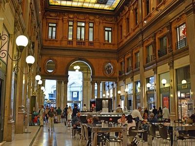 Galleria Alberto Sordi Inside