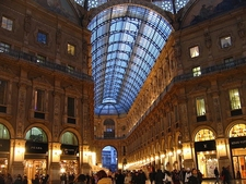 Galleria Vittorio Emanuele II In Evening