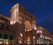 Galleria Vittorio Emanuele II Triymphal Arch