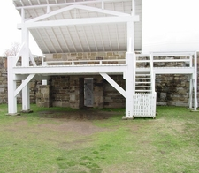 Gallows At Fort Smith Arkansas