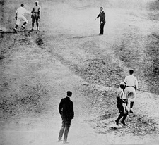 Game 5 Of The 1920 World Series At Dunn Field