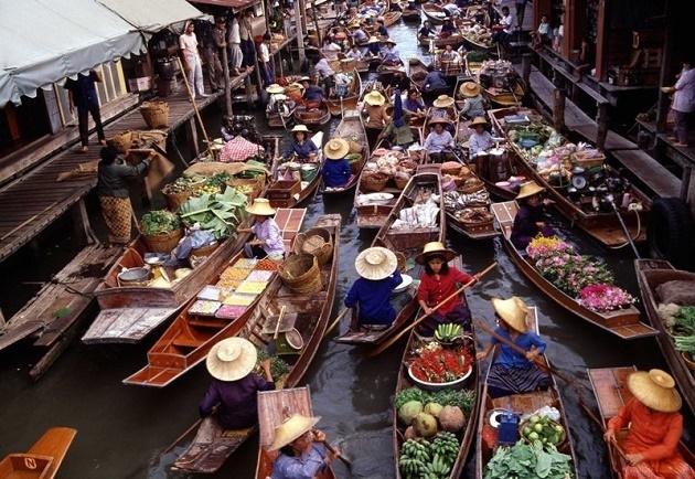 Day Tour Damnern Saduak Floating Market, Half Day Photos