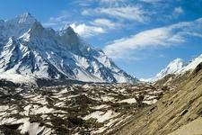 Gangotri Landscape UT Himalayas