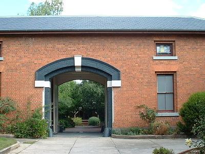 Gaol Courtyard Ballarat