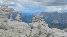 Gardena Pass & Geisler Group - Dolomiti